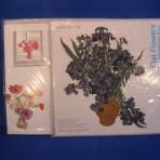 """Flowerkaart Irissen """"Van Gogh"""""""