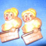 Chocolade Zwarte Pietje uit schoorsteen